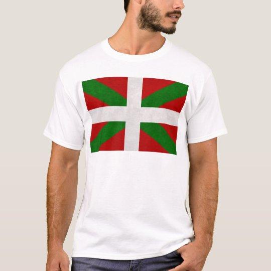 T-shirt Drapeau Pays Basque Euskadi