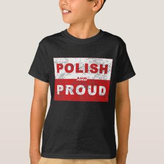 T-shirt Drapeau polonais et fier