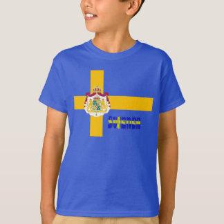 T-shirt Drapeau suédois