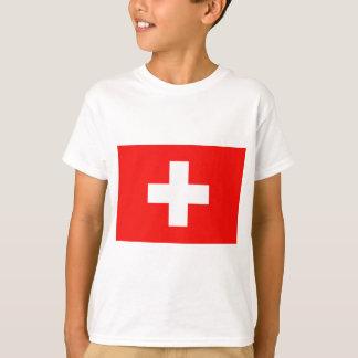 T-shirt Drapeau suisse