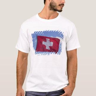 T-shirt Drapeau suisse rf)