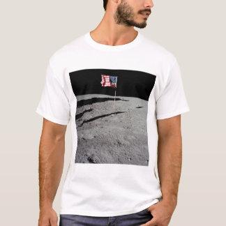 T-shirt Drapeau sur la lune, Apollo 11, la NASA