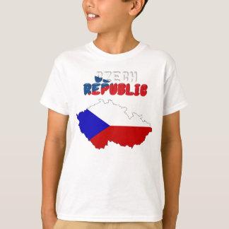 T-shirt Drapeau tchèque