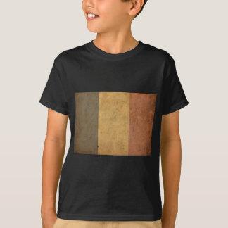 T-shirt Drapeau vintage de la Belgique