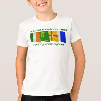 T-shirt Drapeaux de Monaghan du comté