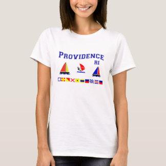 T-shirt Drapeaux de signal de Providence RI
