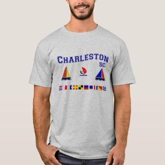 T-shirt Drapeaux de signal de Sc de Charleston