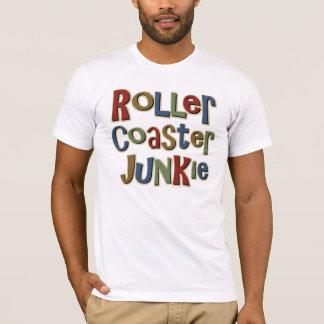 T-shirt Drogué de montagnes russes