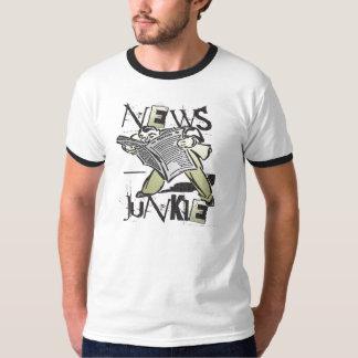 T-shirt Drogué de nouvelles