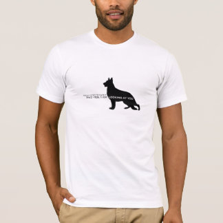 T-shirt Drogue Detecton GSD K9 vous regardant !