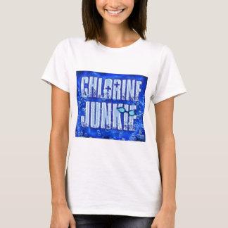 T-shirt drogués de chlore