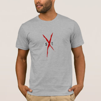 T-shirt droit de bord