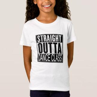 T-shirt droit de classe de danse d'Outta