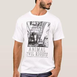 T-shirt Droits civiques animaux (b)