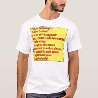 T-shirt Droits de l'homme