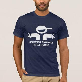 T-shirt drôle avec la citation pour l'ingénieur