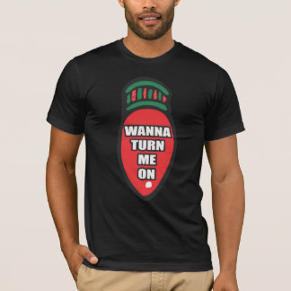 T-shirt drôle d'ampoule de Noël