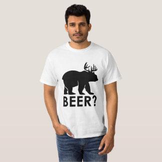 T-shirt drôle de bâillon de calembour de bière
