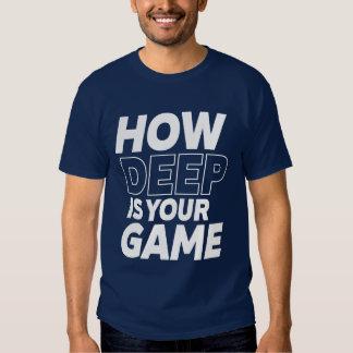 T-shirt drôle de geek et de Gamer combien profond
