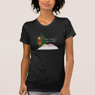 T-shirt drôle de grand-maman de Noël