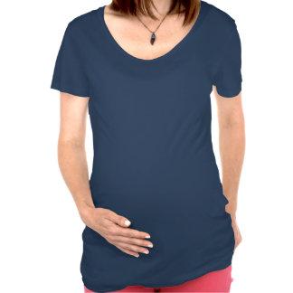 T-shirt drôle de grossesse de flèche de bébé