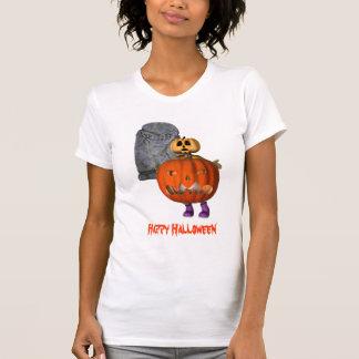 T-shirt drôle de Halloween de pierre tombale