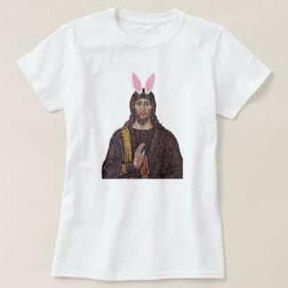 T-shirt drôle de Jésus de lapin de Pâques