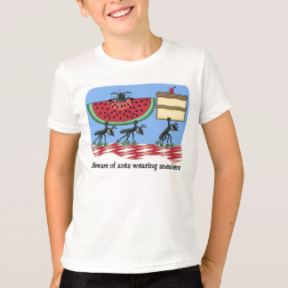 T-shirt drôle de pique-nique