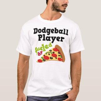 T-shirt (drôle) de pizza de joueur de Dodgeball