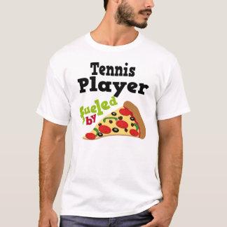 T-shirt (drôle) de pizza de joueur de tennis