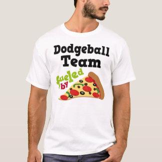 T-shirt (drôle) de pizza d'équipe de Dodgeball