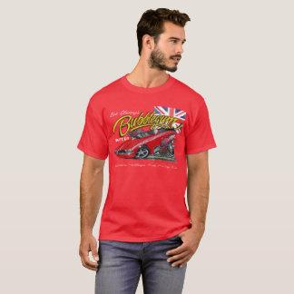 T-shirt drôle de voiture de nostalgie de Bubblegum
