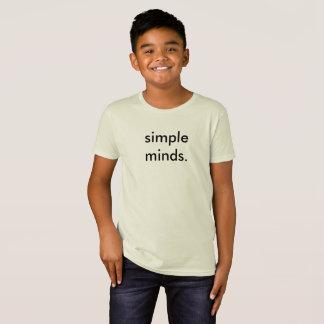 T-shirt drôle d'école d'enfants d'esprits simples