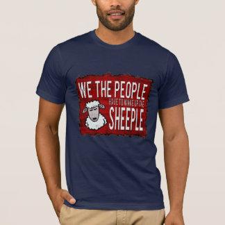 T-shirt drôle d'obscurité de panneau