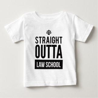 T-shirt drôle droit d'école de droit d'Outta