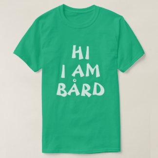 T-shirt Drôle nommé norvégien de Bård en anglais