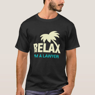 T-shirt drôle pour des avocats avec l'énonciation
