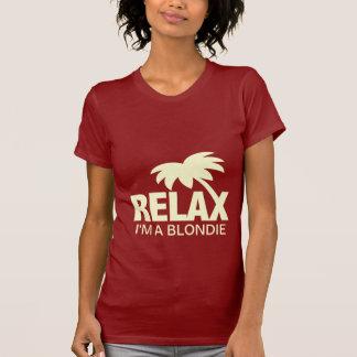 T-shirt drôle pour des blondies