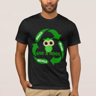 T-shirt drôle réduisez la réutilisation réutilisent