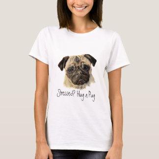 T-shirt Drôle, soumis à une contrainte ? Étreignez un