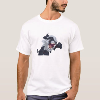 T-shirt Druide sauvage de chat