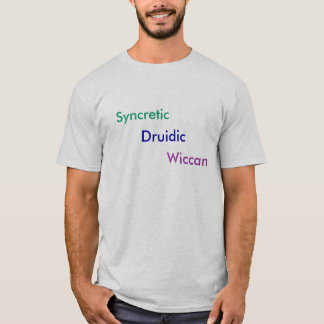 T-shirt Druidic syncrétique Wiccan