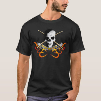 T-shirt Drummer skull C