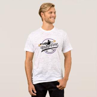 T-shirt du burn-out adapté par toile des hommes