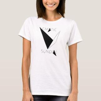 T-shirt du cadran solaire des dames
