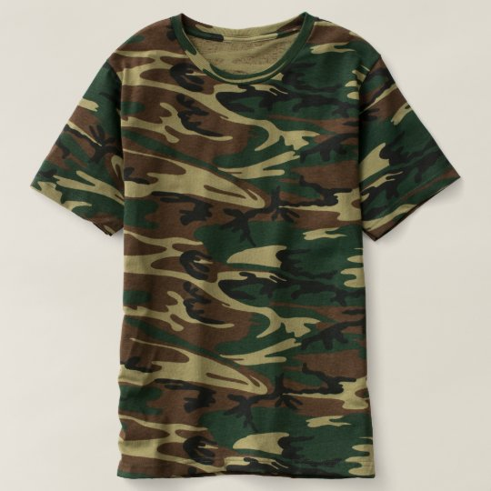 T-shirt camouflage pour hommes