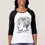 T-shirt du cerveau de l'acteur