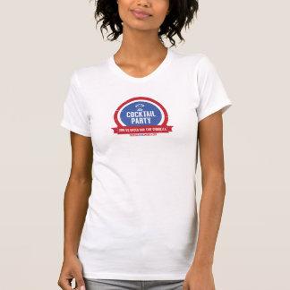 T-shirt du cocktail des femmes officielles