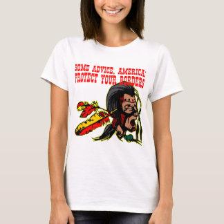 T-shirt Du conseil Amérique protègent vos frontières #002