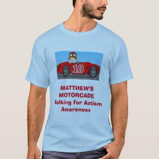 T-shirt du cortège de voitures de Matthew